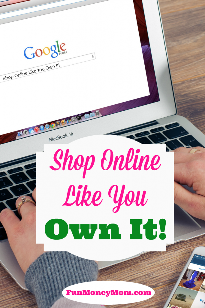 Don't pay full price when shopping online! Shop online like you own it!