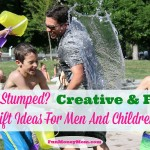 Still Stumped?  Creative & Fun Gift Ideas For Men And Children + Amazing Giveaway