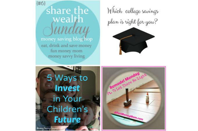 Share The Wealth Sunday Blog Hop #6