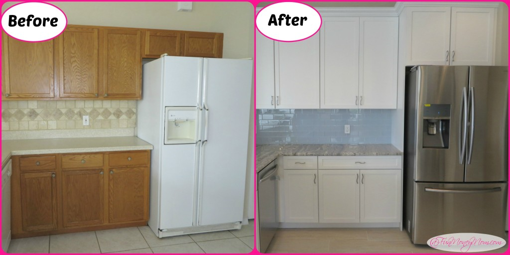 Kitchen side beforeafter