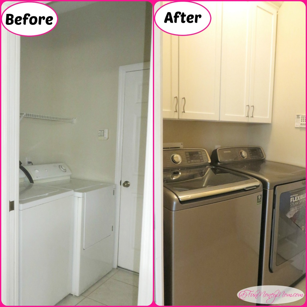 Laundry beforeafter