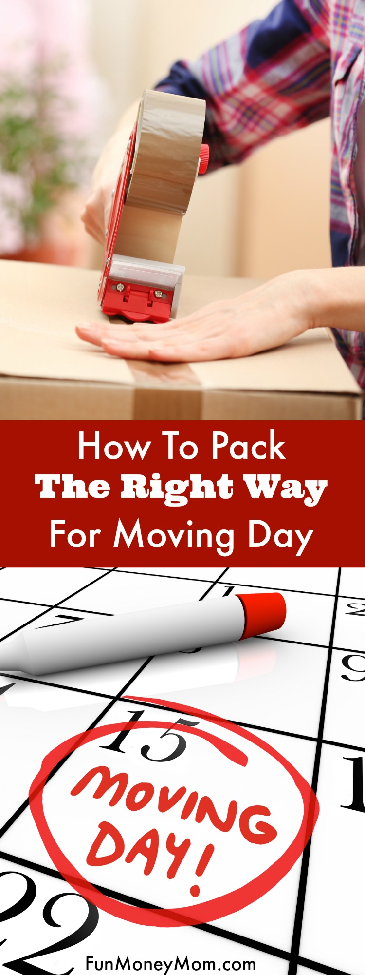 Moving into a new house? Make sure you know how to those pack moving boxes the right way!