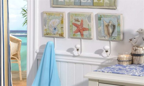 Wednesday roundup coastal decor fun money mom for Money bathroom decor