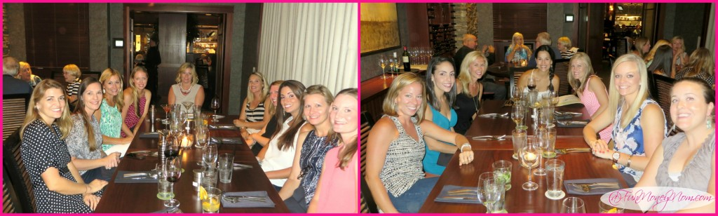 mom's night out collage