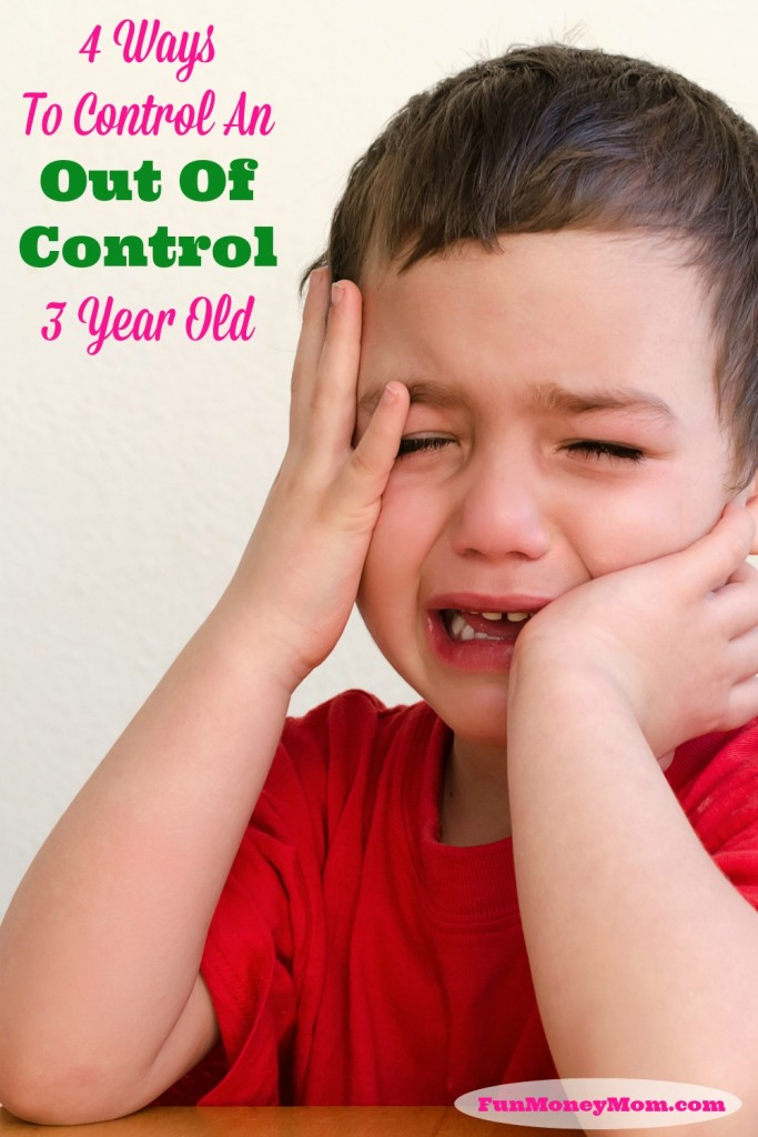 Is your toddler getting out of control? I was right there with you and now I've got some tips that will help!