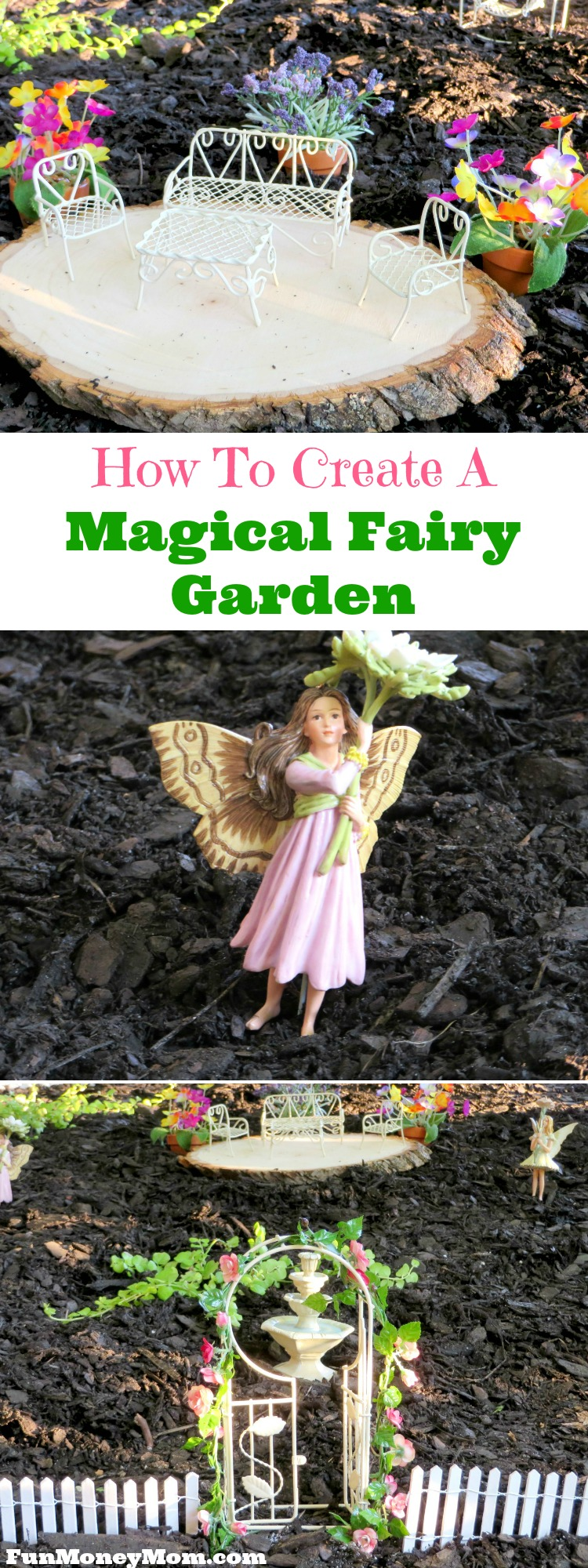 Step up the landscaping a notch and create a beautiful and magical fairy garden that any fairy would love to call home!