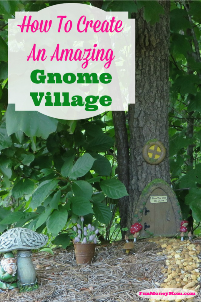 With a little ingenuity, you can create an adorable gnome village