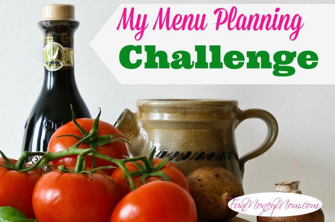 My Menu Planning Challenge