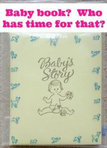 Baby book edit