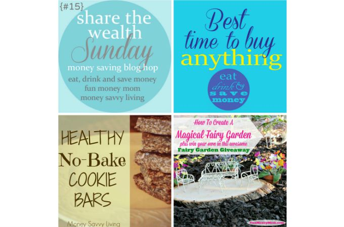 Share The Wealth Sunday Blog Hop #15