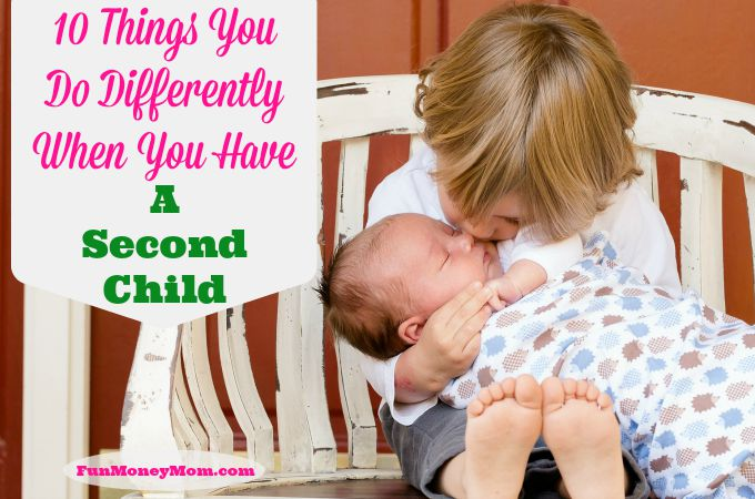 10 Things You Do Differently When You Have A Second Child