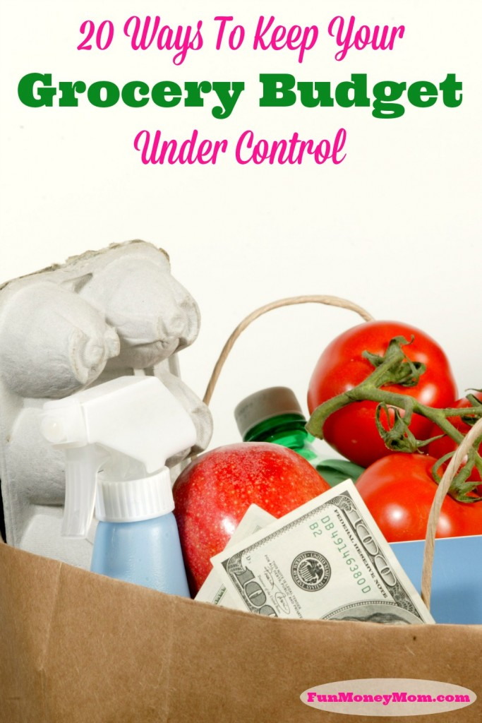 You don't have to spend a small fortune at the grocery store! Learn how to keep that grocery budget under control so you have more money to spend on the fun stuff!