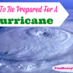 How To Be Prepared For A Hurricane