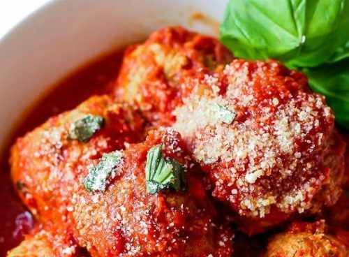slow cooker meatballs with turkey