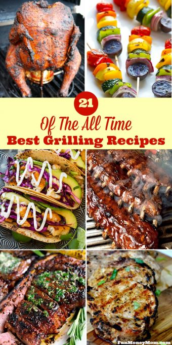 Want the best grilling recipes for your backyard cookout? These mouthwatering choices will make you the most popular neighbor on the street!