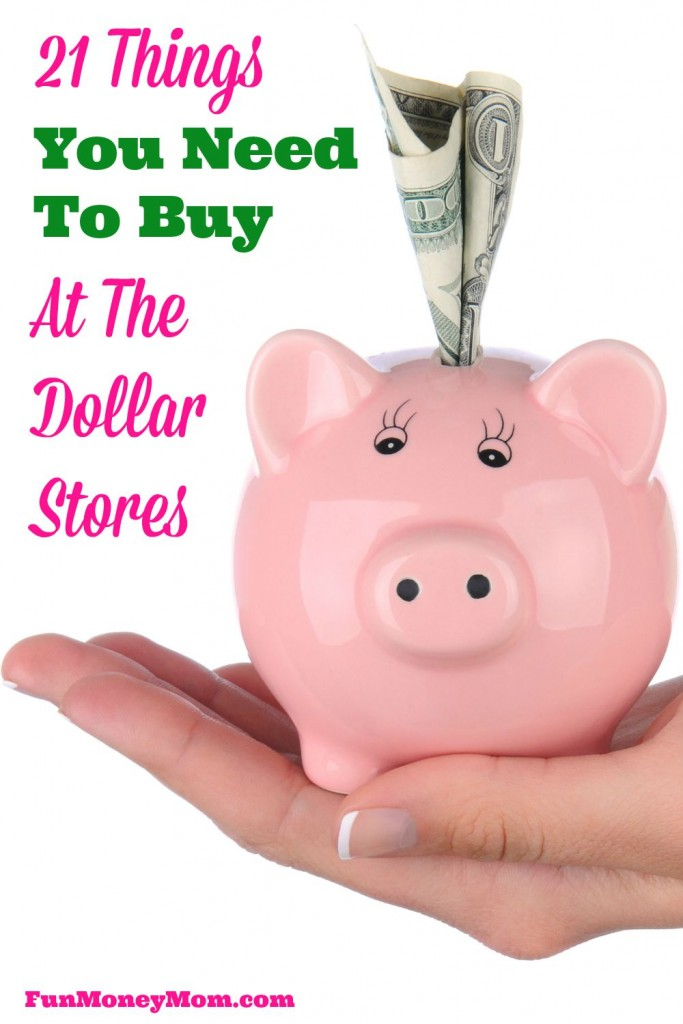 Not shopping at the dollar stores? You're missing out on some great deals! These are the 21 things you should be buying at the dollar stores.