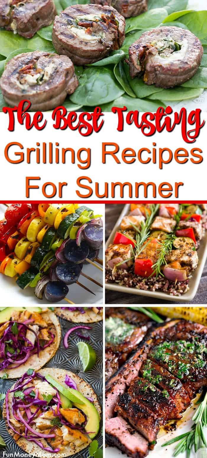 41 Grill Recipes For The Perfect Summer Cookout Fun Money Mom