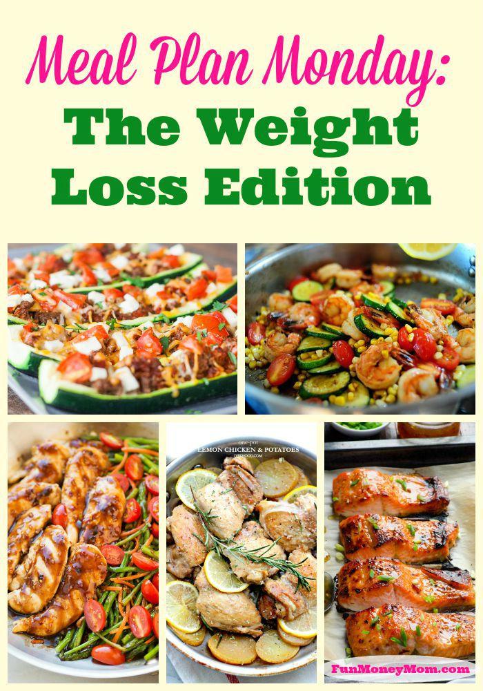 Meal Plan Weight Loss Pinterest w logo