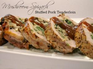 mushroom-spinach-stuffed-pork-tenderloin