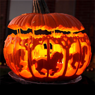 13 Amazingly Cool Pumpkin Carvings