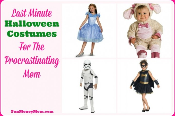 Last Minute Halloween Costumes For The Procrastinating Mom