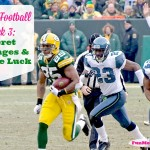 Fantasy Football Week 3: Secret Messages And A Little Luck
