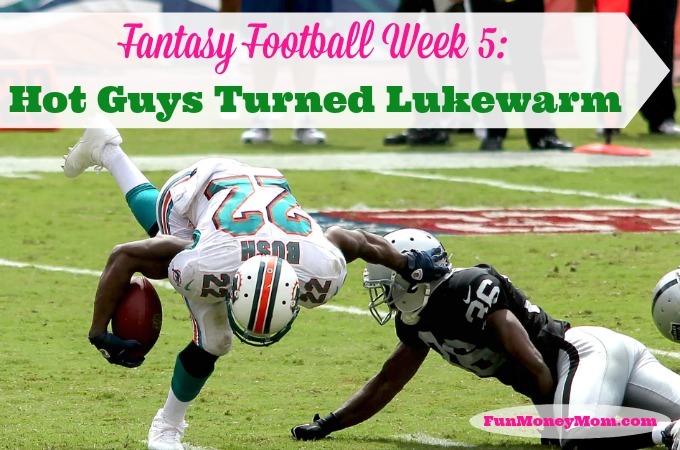 Fantasy Football Week 5: My hot guys turned lukewarm