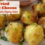 Fried Goat Cheese With Marinara Dipping Sauce