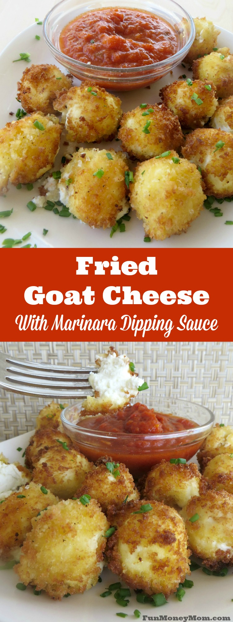 This delicious goat cheese appetizer will be the hit of your next party! Served them warm and watch them disappear!