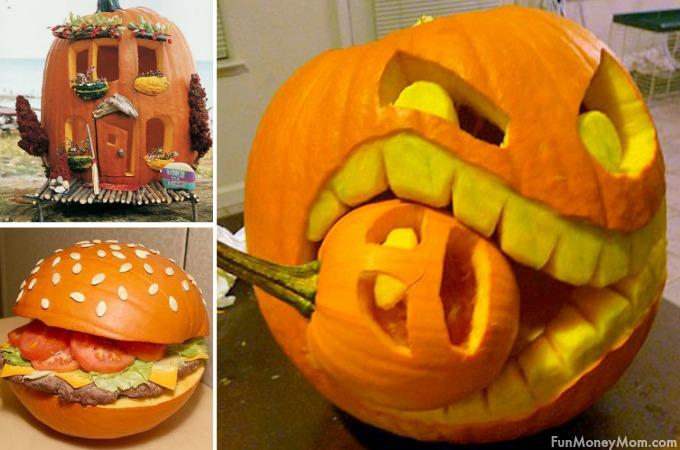 13 Amazingly Creative Halloween Pumpkin Carvings