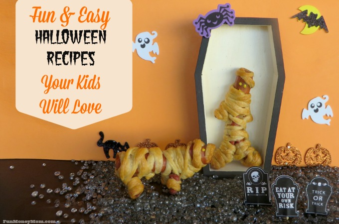 Fun & Easy Halloween Recipes Kids Will Love