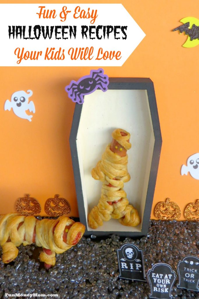 The holidays are just around the corner. Have fun with these Halloween recipes your kids will love!