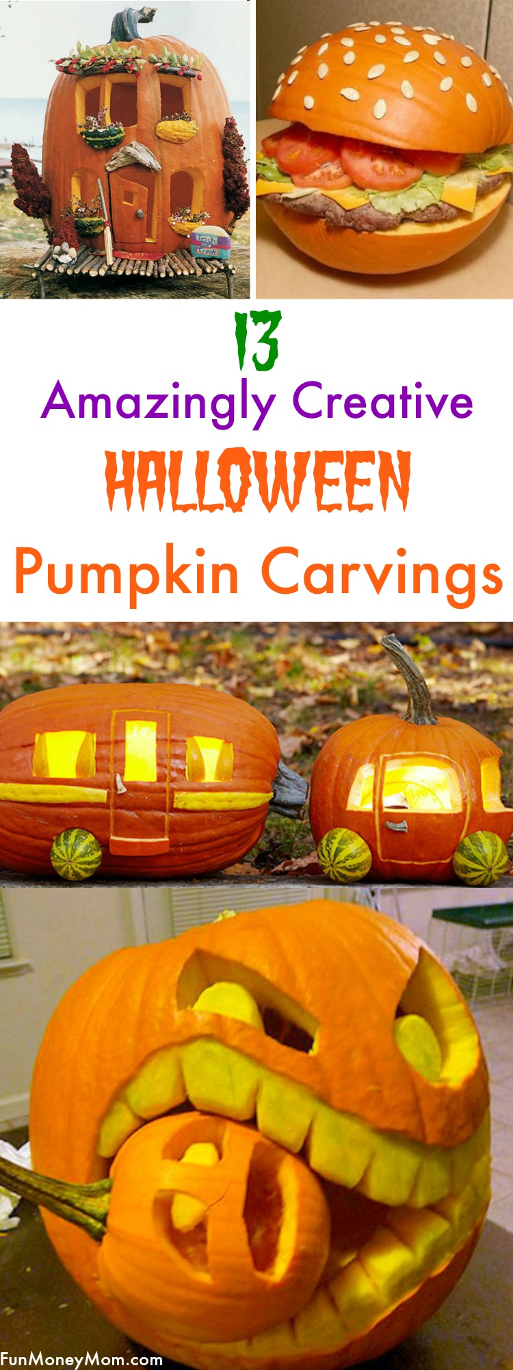 Halloween Pumpkin Carvings That Will Blow Your