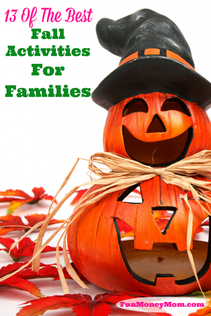 Fall gives us the perfect weather to spend time outdoors! If you're looking for some ideas, I'm sharing 13 of the best fall activities for families. Have fun!