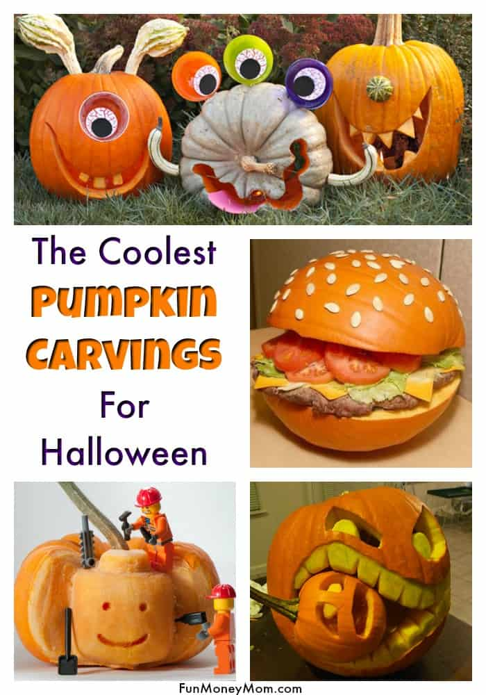 Cool Pumpkin Carvings - These carved Halloween pumpkins are going to blow your mind! If you want to carve Halloween pumpkins this year, these will definitely inspire you! #Halloween #HalloweenPumpkins #carvedpumpkins #pumpkindecorating