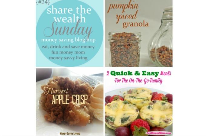 Share The Wealth Sunday Blog Hop #24