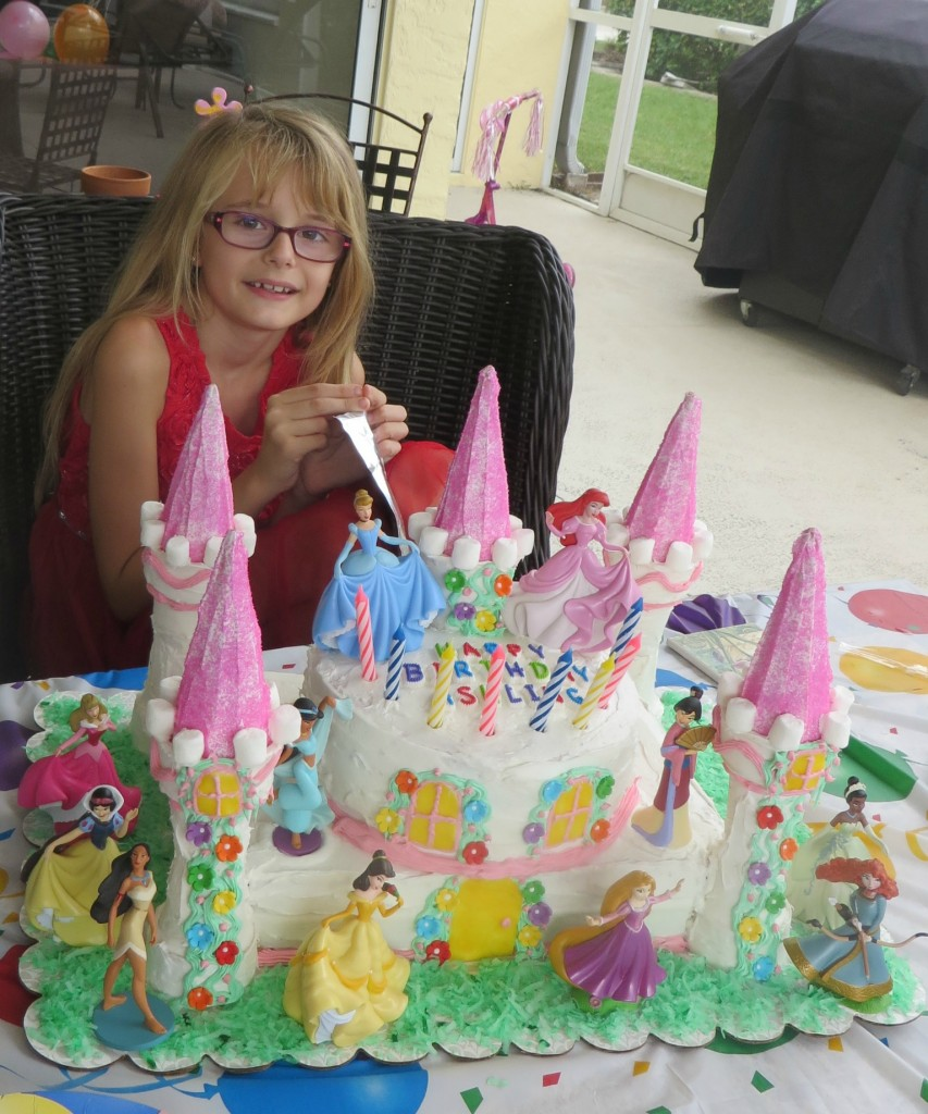 Ashling Loved Her Disney Princess Cake And All Friends Were Impressed Too