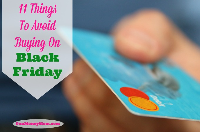 11 Things To Avoid Buying On Black Friday