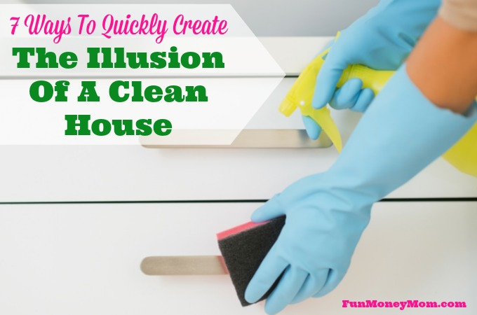 7 Ways To Quickly Create The Illusion Of A Clean House