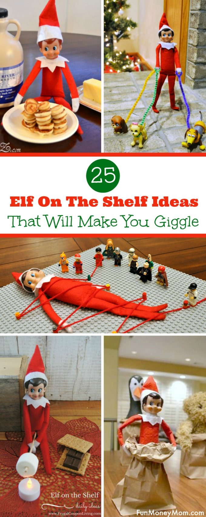 Looking for some great Elf On The Shelf ideas? This little guy sure does turn up in some interesting places and these are sure to make you giggle over the Christmas holidays! #ElfOnTheShelf