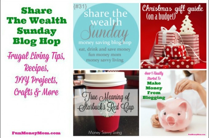 Share The Wealth Sunday Blog Hop #31