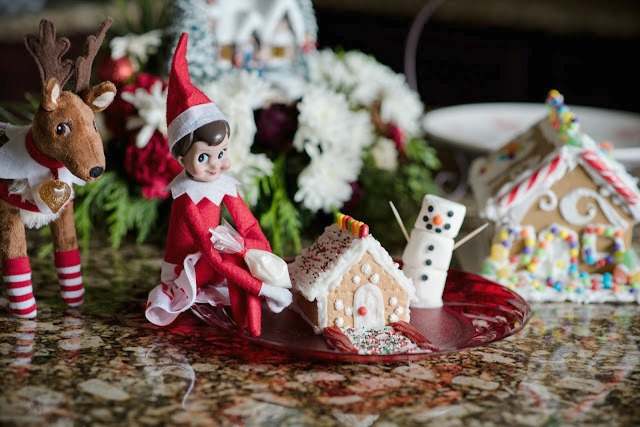 Elf On The Shelf Ideas - Gingerbread Elf
