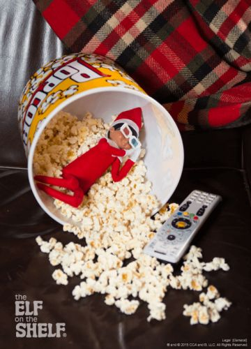 Elf On The Shelf Ideas - Movie Elf