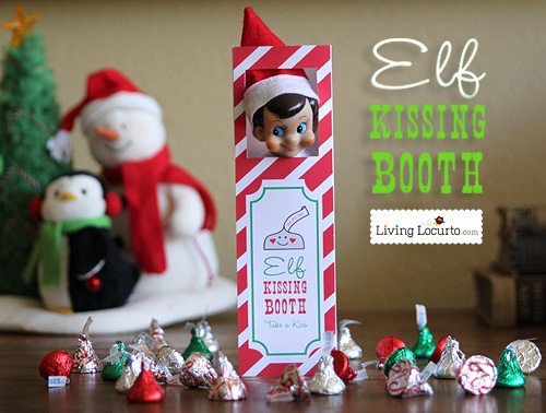 Elf On The Shelf Ideas - Kissing Booth Elf
