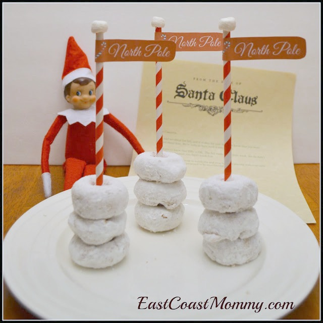 Elf On The Shelf Ideas - Doughnut Elf