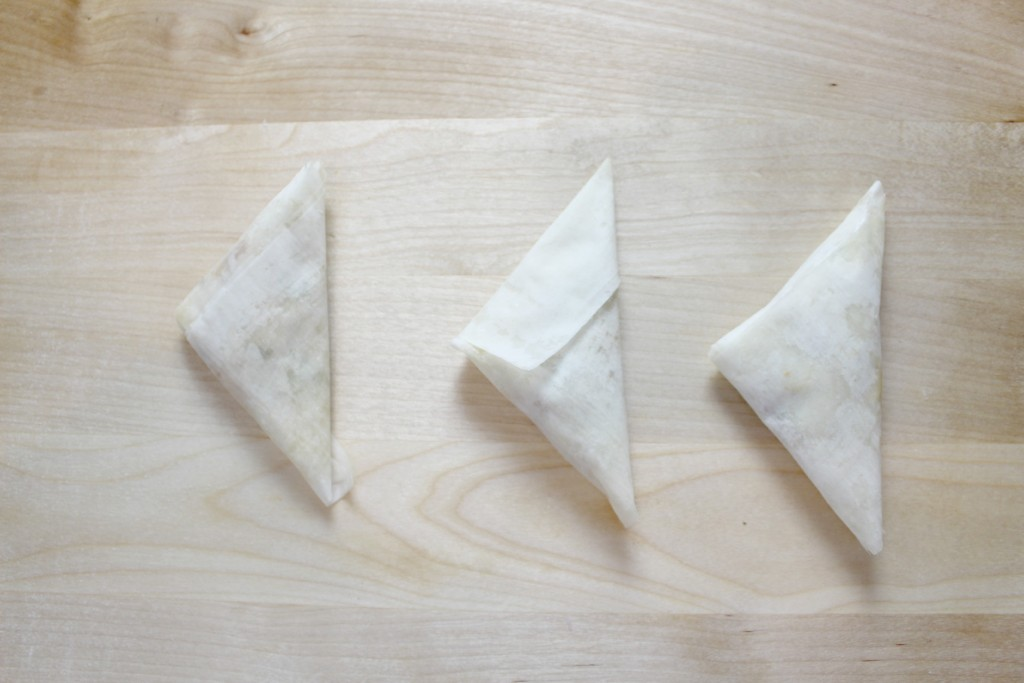 phyllo-triangles