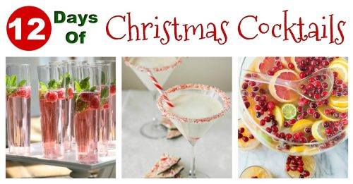 Christmas cocktails facebook