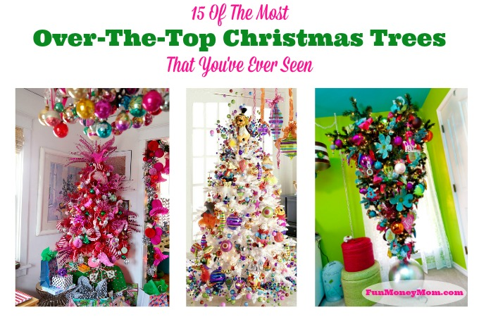 15 Of The Most Over-The-Top Christmas Trees You've Ever Seen