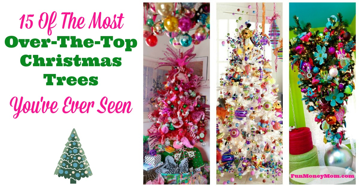 15 Awesome Ways To Decorate A Christmas Tree