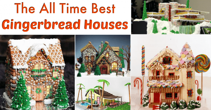 Gingerbread houses FB size